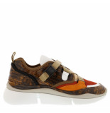 Chloe Sneakers sonnie bruin cognac