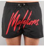 Malelions Signature swishort zwart