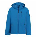 Brunotti Kobalt jongens softshell jas mosky jr 5.000mm waterkolom blauw