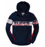 Superdry Jas ryley overhead jas blauw
