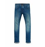 Scotch & Soda Jeans ralston blue roots blauw