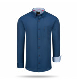 Cappuccino Italia Regular fit overhemd navy