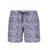 PME Legend Livery swim short psh193665 4243 paars