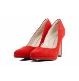 Peter Kaiser 78111 suede rood