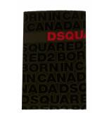 Dsquared2 Dsquared handdoek d7p00245 - groen