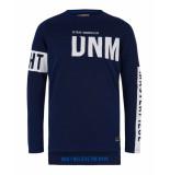 Retour T-shirt duco blauw