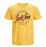 Jack & Jones T-shirt 12155596 jorrival geel