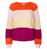 Lollys Laundry Pullover 19300-7000 lana oranje