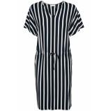 Jacqueline de Yong Jdyalina s s dress jrs 15174790 navy r blauw