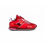 Floris van Bommel rode dames sneaker rood