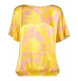 Summum 2s2194-10796 120 top flower print multicolour