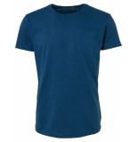 No Excess 91350513 t-shirt s/sl, r-neck, garm.dyed slu shadow blue 132 no-excess
