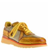 Greve Sneakers combi geel