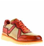 Greve Heren sneakers oranje rood