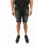 Explicit  Armando korte broek donker grijs