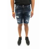 Explicit  Ace korte broek donkerblauw denim