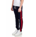 Radical Fw180305 joggingbroek donkerblauw/rood