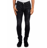 Frankie Morello 8163je weldon jeans – zwart