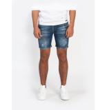 Explicit  Lewis short jeans - blauw