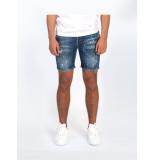 Explicit  Travis short jeans - blauw