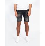 Explicit  Travis short jeans - zwart