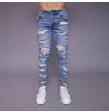 Radical Dwayne blue destroyed jeans - blauw