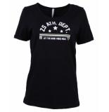 Zoso T-shirt sierra blauw