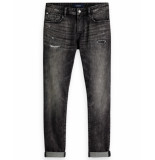 Scotch & Soda Jeans 150943 grijs