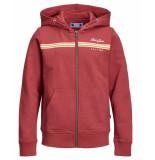 Jack & Jones Vest 12155590 jordavis rood
