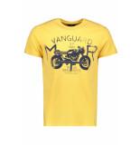 Vanguard Artwork t shirt vtss194696 1142 geel