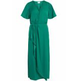 VILA Vifloating 2/4 ankle dress/za 14050506 pepper green groen