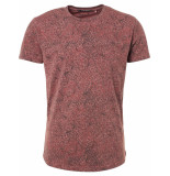No Excess T-shirt s/sl, r-neck, ao printed, g old pink rood