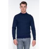 Blue Industry Sweater blauw
