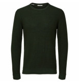Selected Homme oliver crew groen