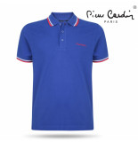 Pierre Cardin Heren polo royal blue blauw