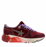 Golden Goose Deluxe Brand Golden goose sneakers running sole bordo rood