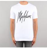 Malelions Signature t-shirt wit