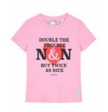 Nik & Nik T-shirt g8-047 roze