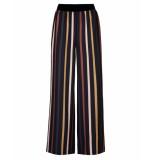 By-Bar Amsterdam Pantalon 19518005 dorris stripe blauw