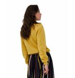 By-Bar Amsterdam Sweatshirt 19515003 nikki sweater geel