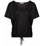 By-Bar Amsterdam T-shirt 19511002 donna top zwart