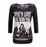 Geisha Gt1185 999 t-shirt, black zwart
