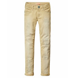 Scotch R'Belle Jeans skinny fit 5-pocket pants special dye soft beige