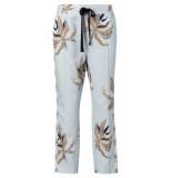 YAYA – jogging trousers with print licht blauw