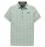 PME Legend – short sleeve polo single jersey aop