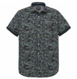 PME Legend – short sleeve shirt poplin print jef