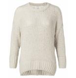 YAYA – furry knit sweater wit