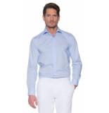 Donkervoort Casual overhemd met lange mouwen blauw