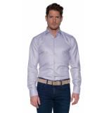 Donkervoort Casual overhemd met lange mouwen grijs