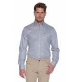 Donkervoort Overhemd met lange mouwen grijs
